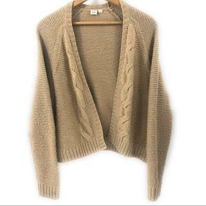 Gap Sweaters - Gap Women's Wool Blend Open Cardigan Sweater, M